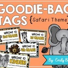Meet the Teacher Night Goodie Bag Tags! (Jungle Themed!)