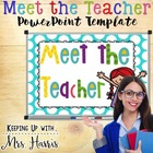Meet the Teacher PowerPoint & SmartBoard