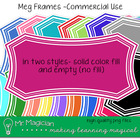 Meg Frames Commercial Use: ColorMatch