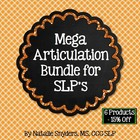 Mega Articulation Money Saving Bundle for Speech Therapy