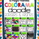Mega Bundle of Colorama Doodle Borders & Frames: For Perso