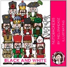 Melissa's Nutcracker bundle by melonheadz black and white