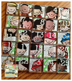 Melonheadz Numbered Magnets 1-25