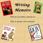 Memoir Introduction Minilesson - Powerpoint