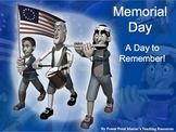 Memorial Day Holiday Power Point Lesson and Interactive Quiz