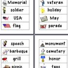 Memorial Day Word Wall Vocabulary (FREE)