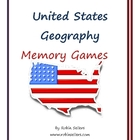 Memory Games for United States Geography