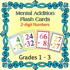 Mental Addition Flash Cards: 2-Digit Numbers