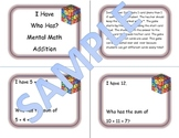 Mental Math Addition Game