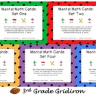 Mental Math Cards - ALL FIVE SETS!