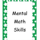 Mental Math Posters