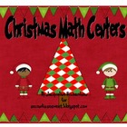 Merry Christmas Math Centers