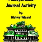 Mesopotamia Journal Activity