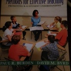 Methods for Effective Teaching by Burden and Byrd