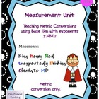 Metric Measurement Unit Common Core 5.MD.1 and 5.NBT.2