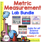 Metric Measurements: Set of 3 Labs (Mass, Length, Volume a