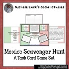 Mexico Scavenger Hunt Task Cards Game!  Great Review, CCSS