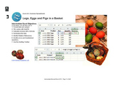 Microsoft Excel 2013 Intermediate: Legs, Eggs and Pigs
