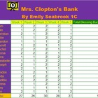 Microsoft Excel Money, Banking & Math Project