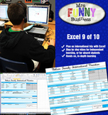 Microsoft Excel Video Tutorial Lesson 9 of 10