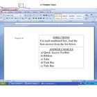 Microsoft Word 2007 Test