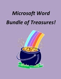 Microsoft Word Bundle of Treasures! - 3 Word Units