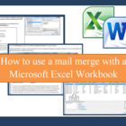 Microsoft Word Mail merge with Word 2010 and Excel 2010