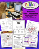 Microsoft Word Video Tutorial Bundle - Lessons 1-5