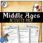 Middle Ages Project / Assignment Package - 6 Activities!
