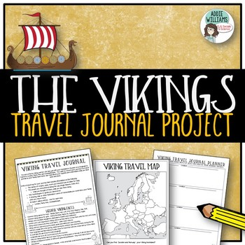 Vikings - Students Create a Viking Travel Journal