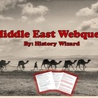 Middle East Webquest and Answer Sheet (Solid Lesson Plan)