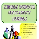 Common Core Middle School Geometry Bundle
