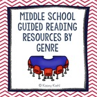 Middle School Guided Reading Resources by Genre: CCSS Aligned