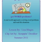 Middle School Real-World Word Problem Reviews