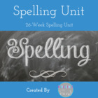 Middle School Spelling List Unit