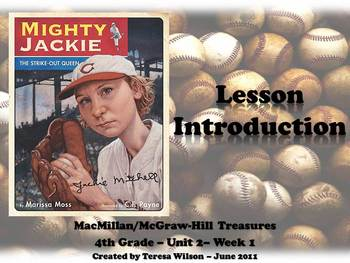 Mighty Jackie the Strikeout Queen - Lesson Introduction