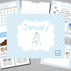 Mimio January Calendar Morning Meeting