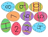 Mini-Center: Match Easter Egg Numbers with Chick Sets to 1