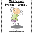Mini Lessons - Phonics - Grade 1
