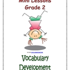 Mini Lessons - Vocabulary Development - Grade 2
