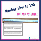 Mini Number line to 120