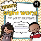 Mini-Strip Sight Word Books