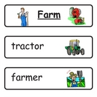 Mini Word Book-Farm Words