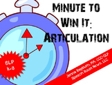Minute To Win It: Articulation