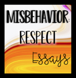 Misbehavior - Respect Essay