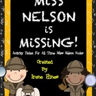Miss Nelson Is Missing~ Book Activity Unit {Perfect For Su