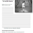 Miss Peregrine's Home for Peculiar Children - Reading and