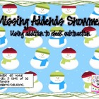 Missing Addends Snowmen {FREEBIE}