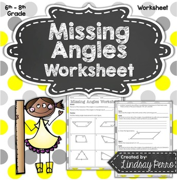 Missing Angles Worksheet