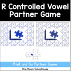 Missing Pieces r Controlled Vowels